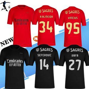 NUOVI 20 21 Benfi CA calcio Jersey via della maglietta 2020 2021 PIZZI casa Football Shirt Vinicius maglietta RAFA adulti Camisa Camiseta Maillot