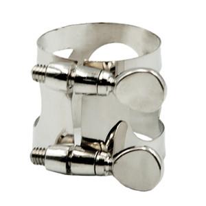 Saxophone Pince à ligatures clip pour les joueurs d'amant Sax, Argent