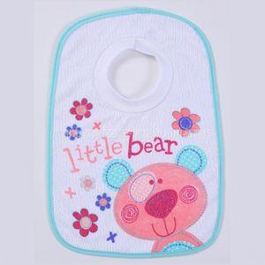 High quality LionBear baby Saliva 0-2 April haircut towel bib bib rice pocket saliva towel