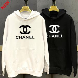 2020 Yeni tasarımcı Kapüşonlular Womens Moda Streetwear Kazak Tişörtü Gevşek Kapüşonlular Aşıklar Giyim Chanel Tops