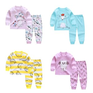 New Baby Girls Long Sleeve Cotton High Quality Pijamas boys Pajamas Sets Kids Pyjamas for Girls 2-6Years