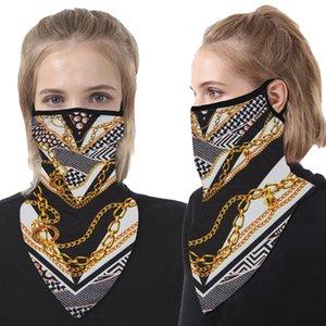 2020 шарф Triangle шарфа маска Щит висячей уха дышащей Быстрая сухой череп оголовье пробка Шея Gaiter сопроводительных Мужчины Девушка