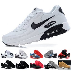 Fast Shipping 2019 Men Shoes Classic 90 Men and woman Shoes Trainer Air Cushion Surface Casual Shoes 36-45 ERH9T
