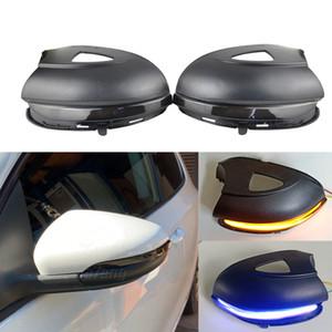 2014 사이드 윙 미러 깜박이는 빛 LED 블루 동적 돌려 신호 깜박이에 폭스 바겐 폭스 바겐 골프 6 MK6 GTI R20 투란 2011