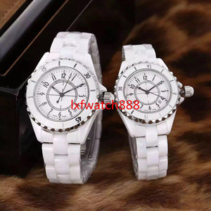 2020 Famous Ceramic C&C Woman watch 33MM 40MM clock high quality Special Band stainless steel Lady wristwatch Nice Fashion Couples watch
