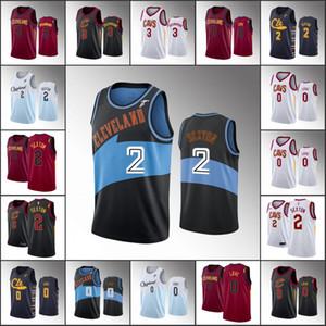 Erkekler ClevelandCavaliersBasketbol Jersey Andre Drummond Collin Sexton Kevin LoveNBA 2019-20 Formalar