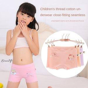4CzY7 de rosca de algodão crianças tong nei ku tong nei crianças ku do 's cueca boxer para bebês crianças e cuecas meninas sem costura para