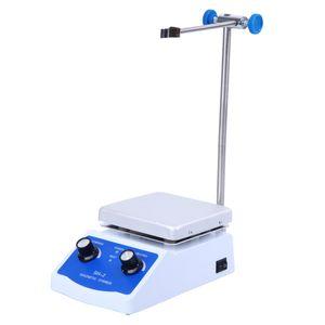 Misturador magnético do agitador magnético de SH-2 com o misturador da placa do aquecimento do aquecedor Agitador de agitação Barra de laboratório de casa para liquidificador