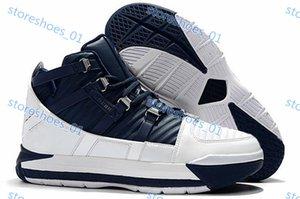 Nike Zoom LeBron нового зуммирование Lebron 3 Хьюстона QS ШВСМ Главной SuperBron Христос Короля Мужчина Deisgner Спортивная обувь Джеймс 3s CTK Metallic Gold Mens Trainer