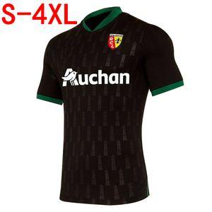 Tasarımcı Ligue RC Lens deplasmanda Futbol Jersey Erkekler gömlek 2020 2021 RC Lens deplasmanda Sotoca Futbol Formalar S-4XL Running