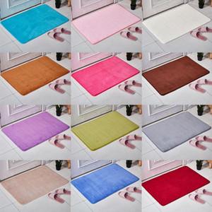 Tappeto Acqua assorbente morbida Memory Foam Mat Moquette Camera Tappeto Nuovo Bagno Doccia non 40x60cm Tappetino Accessori Skid R Y5J9