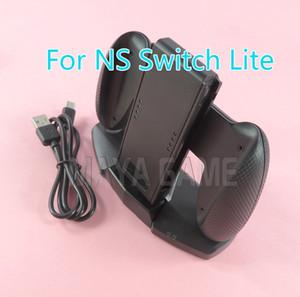 Para el interruptor de carga estación de acoplamiento NS soporte Base Alegría-Con Accesorios Grip soporte del cargador del USB de la ayuda para el cable NS NS Pro Lite