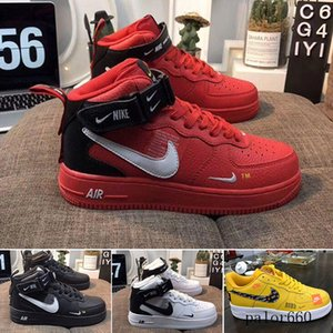 Fast Shipping Hot sale 2018 new style fly line Men Women High low lover Skateboard Shoes 1 One knit Eur size 40-45 mesh RT5IN