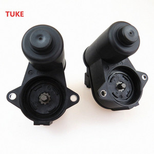 TUKE Qty 2 Hand Brake Wheel Cylinder Adjuster Motor Calliper 6 Torx For VW Seat Alhambra A6 Q3 4F0615404F 32332082 4F0 615 404 C dh1F#
