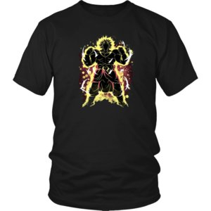 Refroidir Super Saiyan Broly shirt Broly T-shirt Dragon Ball Broly T-shirt Cartoon hommes de T-shirt unisexe New tshirt Mode
