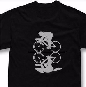 Bicicleta de la camiseta Lemas Ciclismo regalo de bicicletas Racing Tshirt camiseta modificada para requisitos