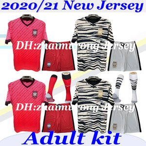 2020 21 SON Adult kit soccer Jerseys SON #7 HUN KWON LEE KIM HO SON HYUNG KIM HOME AWAY 2021 20 21 JERSEY KIT FOOTBALL SHIRTS