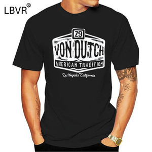 Ink Dutch American Rockabilly Logo Van T-Shirt [29 Von Tradition] Tattoo Itjwq