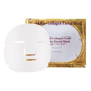 Hot sale Gold Bio Collagen Facial Mask Face Mask Crystal Gold Powder Collagen Facial Mask Sheets Moisturizing Beauty Skin Care