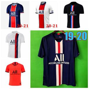NEYMAR JR football Jersey Men 20 21 soccer jersey 2020 2021 MBAPPE ICARDI 4th shirt set maillot de foot hommes enfants wholesale