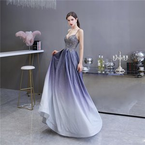 Pretty Unique Evening Dress Spaghetti Straps A-line Prom Gown with Pockets for Special Occasion Custom Made