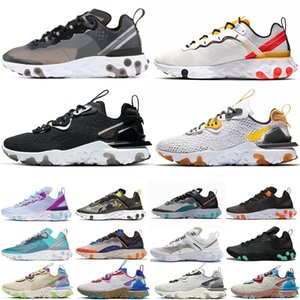Nike react element 87 athletic outdoor Sport scarpe da jogging trainer velocità donne sneakers