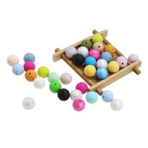 200pcs di buona qualità lot 15mm Denti / Food Grade Silicone Beads Bracciali Bebé Masticare Gioielli Teether collane mamma Gioielli T200730