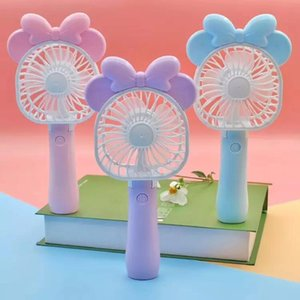 Mini Folding Portable Cartoon Fan USB Rechargeable Handheld Air Cooler Cooling Fan Kids Gifts Toys