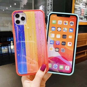 Colorful Aurora Borealis Case For Samsung A01 A21S A11 A21 A71 A51 A31 A20S A10S A40 A70 A30S A50 M31 M11 Slim Fit Protective Phone Cover