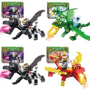 Ninja Flame Spys Green Mech Dragon Compatible Ingly Ninjagoes 70612 70653 70652 Building Blocks Bricks Toys Christmas Gifts#435
