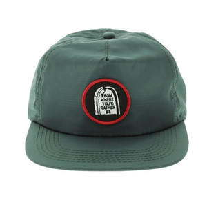 dokuma etiket yama ile kendi snapback kapaklar Tasarım toptan özel yapılandırılmamış 5 Paneli Naylon düz brim şapka asker yeşili snapback Baba Şapka