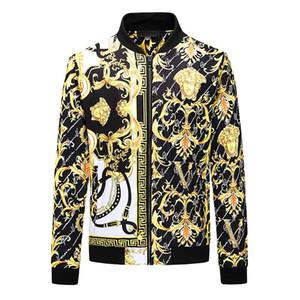 2020 Sonbahar Kış Moda Lüks Yeni Trend Sıcak Sürümü Kış Ceket Ince Klasik Madusa Casual Ceket Erkekler Ceket