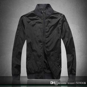 Men's new spring fall 2019 jacket casual trend short line baseball jacket stand-up collar men's coat top