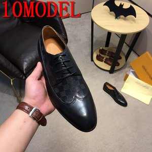 2020 luxurious Men's Design Gommino Man Fashion Casual Shoes Embroide Embroidery Charm wedding dress prom Footwear Size 38-45