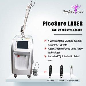 2020 mais novo laser pico cicatrizes máquina de depilação a laser tatuagem remoção Qswitch nd yag lazer picosecond lazer máquina laser pico equipamento da beleza