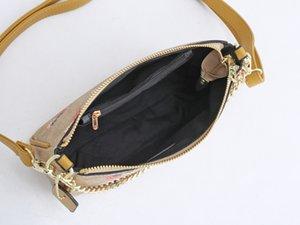 2020 Pu Leather Bags Handbags Women Famous Brands djustable chain crossbody bag Casual Women Bags Shoulder Bag Ladies tote bags Alphabet pr
