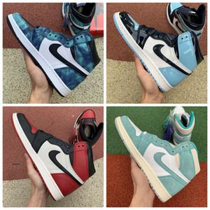 2020 high OG inJordan1 Retro basketball shoes 1s Fearless Royal black Toe white UNC Patent men women sneakers trainers