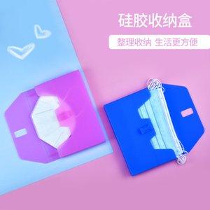 Clip Outdoor Portable Tasche Grad 10 Colors Silikon Kreative Speichermaske Speicher Mask Box Ekaxi