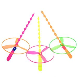 Hand Push fliegende Untertasse Feitian Fee Puzzle Kinder Ausbildung Plastikspielzeug kreative Kindergarten Grundschule Geschenke