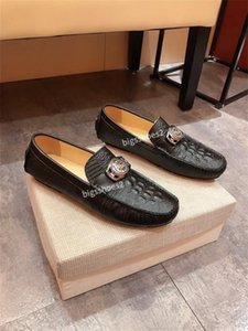 Male Shoes British Style Male Loafers Luxury Peas Driving Shoes Soft Bottom Men Casual Loafers hy200610
