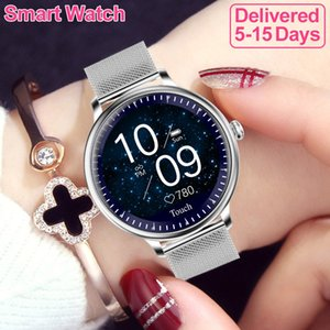 NY12 Smart Watch Women Heart Rate Blood Pressure Physiological Health Bracelet Sport Sleep For Lady IP67 Waterproof Android IOS smartwatch