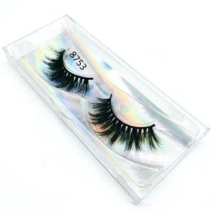 22mm vison cils cils de vison cheveux 3D bulk 100% des cils gros faux cils faux cils maquillage longue 8753