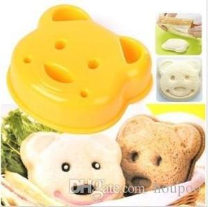 9.5*8.5*2.4cm Cartoon Bear Design Sandwich Cutter Bread Mold Maker Baking Household Tools Craft Supplies Kitchen Accessories Gadgets