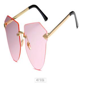 Arrow Frameless Gold Sunglasses Square Frameless Titanium Glasses Frame Men Optical Glasses Frame Women Retro Eyeglasses Frame Womens yMWFE