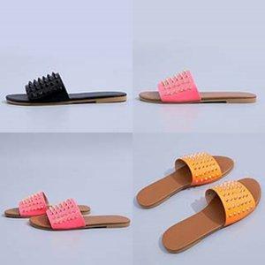 Indoor Ome Soes Dener pantofole per Cildren fumetto Infradito Nero Rosa Blu Giallo Blu Donna Uomo estate 2020 sandali nuovo arrivo # 369