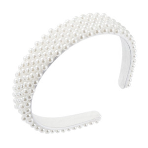 Beautiful Wind full pearl hair band girl heart Super fairy head band temperament versatile style