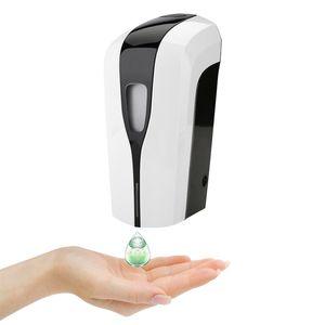 1000ml Hospital Bathroom use Private Label Custom Logo Manufacturers Automatic 75% Alcohol Gel Hand Sanitizer Dispenser