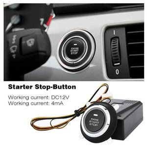 Кнопка автомобилей Прочный портативный двигателя Start Stop Кнопка автоматического зажигания Стартер для улучшения безопасности вождения