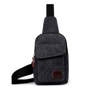 Cross Body Handbag Casual Shoulder Bags Pure Color Adjustable Chest Package Man Fashion Wear Resistant 10rx UU