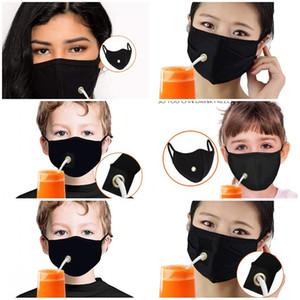 Fashion Face Mask Solid Color Респиратор Washable Mascarilla Мужчины Женщины Валюта Удобные Напитки пыле многоразовых Дышите свободно 5мг D2